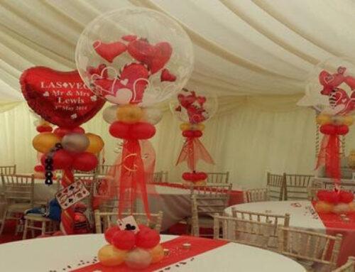Wedding Season and personalised wedding balloons